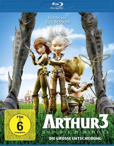 Arthur und die Minimoys 3 - Die grosse Entscheidung [Blu-ray]