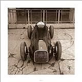 Pyramid International Ferrari F1 Vintage 125 F1 1948 Art Print, 40 x 40 cm