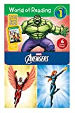World of Reading Avengers Boxed Set: Level 1 - Purchase Includes Marvel eBook!