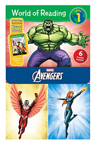Avengers Set [With E Books] (Marvel the Avengers: World of Reading, Level 1)