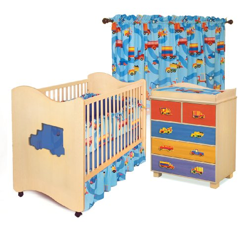 Room Magic  Nursery Set, Boys Like Trucks - 1