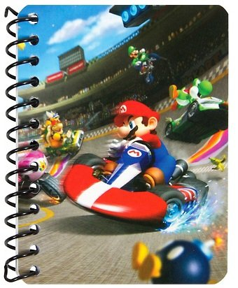 Nintendo Mario Bros Journal, Assorted