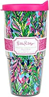Lilly Pulitzer Double Walled Tumbler, Hot Spot
