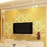 10mx53cm Wallpaper Rolls Luxury Embossed Patten Textured Home Wall Decor