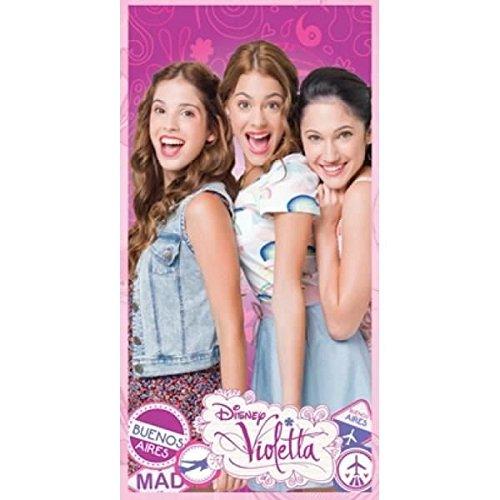 Violetta Disney Friends Telo Mare Piscina Asciugamano