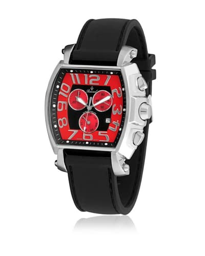 Bassel Reloj con movimiento cuarzo suizo CR4021RC Negro 47  mm