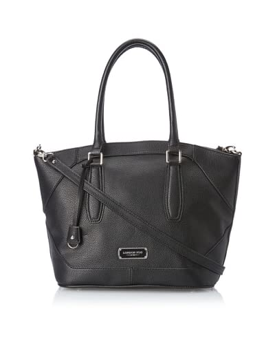 London Fog Women's Avery Shopper, Black