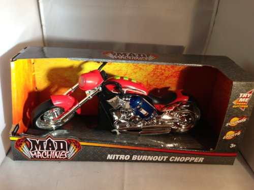 Mad Machines Nitro Burnout Chopper by Toystate - 1