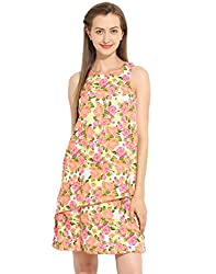 Off Shoulder Multi Color Dress X-Large