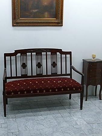 Barroco estilo envejecido banco Louis XV rococó aba3