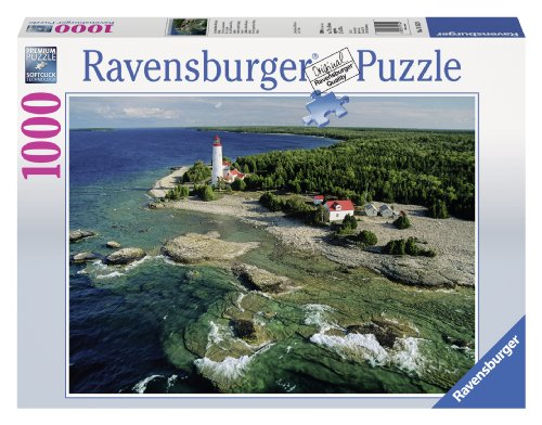 Ravensburger Lighthouse, Bruce Peninsula and Canada Jigsaw Puzzle (1000-Piece) (Ravensburger Canada compare prices)