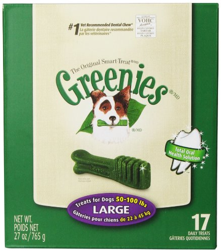 Greenies Tub-Pak Treat For Dogs, 27-Ounce, Large