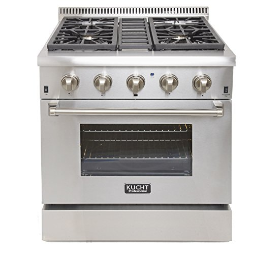 KUCHT-KRD306F-Pro-Style-30-Dual-Fuel-42-cuft-Range-in-Stainless-Steel-with-Convection-Oven