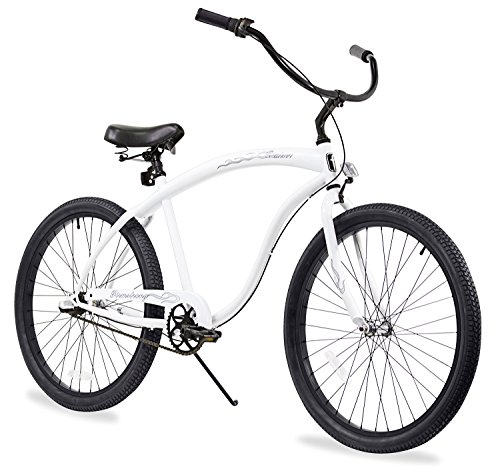 Firmstrong Bruiser Man Beach Cruiser Bicycle, 26-Inch 0