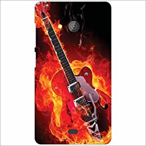 Microsoft Lumia 540 Dual SIM Back Cover - Music On Fire Designer Cases