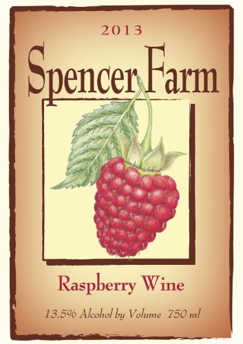 2013 Spencer Farm Raspberry Wine 750 Ml