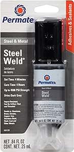 Permatex 84109 PermaPoxy 4 Minute Multi-Metal Epoxy, 0.84 oz.
