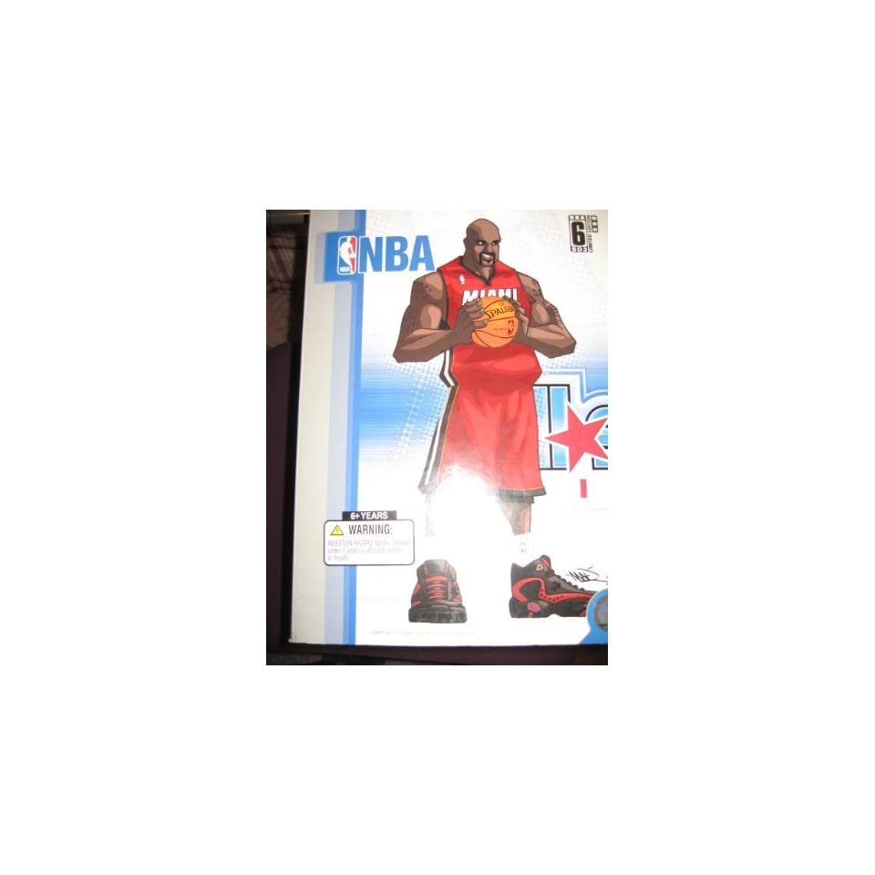 Upper Deck Collectibles NBA All Star Vinyl Shaquille Oneal Heat #32 (Red Jersey Edition)