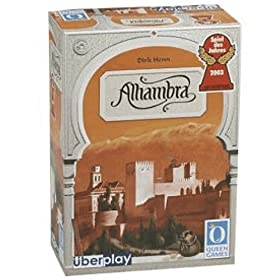 Alhambra board game!
