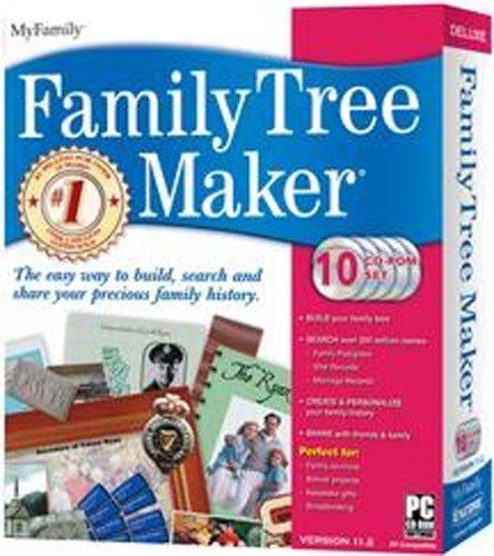 Family Tree Maker Deluxe 11 2B000228KBW : image