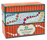 Paper Magic All Occasion Handmade and Embellished Greeting Card Assortment in Keepsake Organizer Box, 25 Cards (2333109)