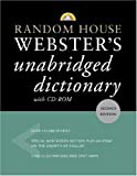 Random House Webster's Unabridged Dictionary with CD-ROM (Random House Webster's Unabridged Dictionary (W/CD))