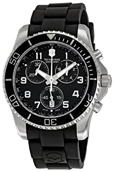 Victorinox Swiss Army Men's 241431 Maverick Black Dial Watch by Victorinox Swiss Army