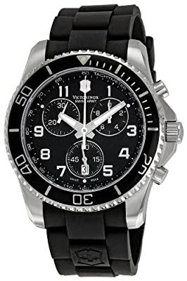 Victorinox Swiss Army Men's 241431 Maverick Black Dial Watch by Victorinox Swiss Army