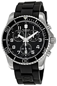 Victorinox Swiss Army Mens 241431 Maverick Black Dial Watch by Victorinox
