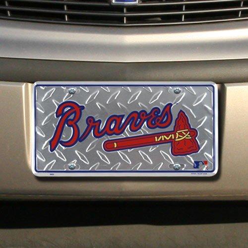 Atlanta Braves WinCraft License Plate Frame - mlbshop.com
