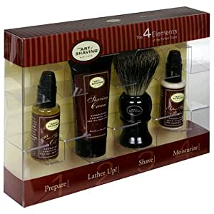 Art Of Shaving The 4 Elements Of The Perfect Shave, Sandalwood Essential Oil, For All Skin Types, 1 Kit