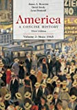 America: A Concise History, Volume 2: Since 1865 (0312416415) by Henretta, James A.