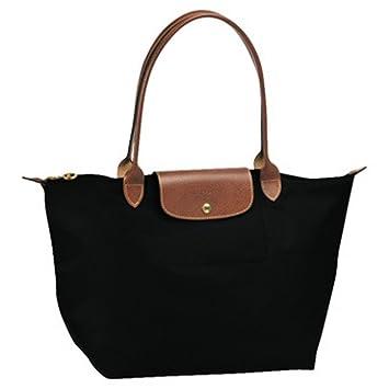 Longchamp Schwarz Leder