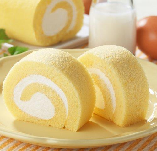 モンテール 手巻きのロールケーキ・ミルク(5コ入)