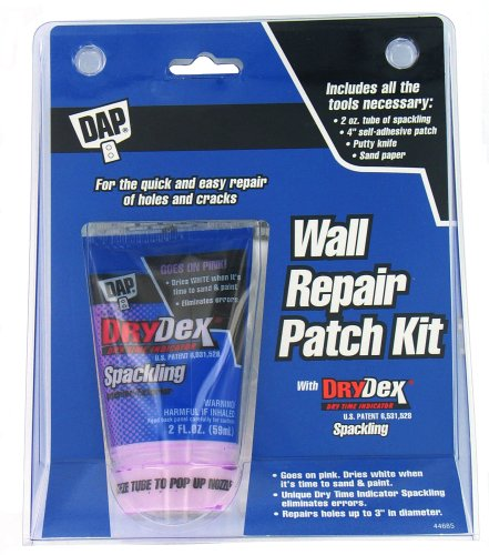 DAP 2-Ounce Wall Repair Spackle Kit #12341 (Dap Drydex Wall Repair Patch Kit compare prices)