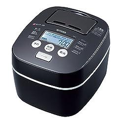 TIGER 土鍋圧力IH炊飯ジャー 5.5合 ブラック 炊きたて JKX-V100-K