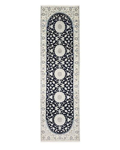 "Solo Rugs Authentic Persian Rug, Ivory, 3' x 10' 4"" Runner"