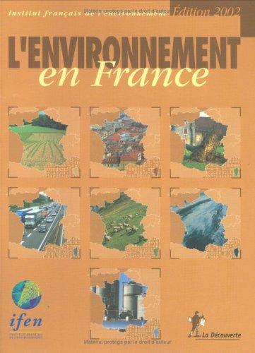 L'environnement en France, édition 2002