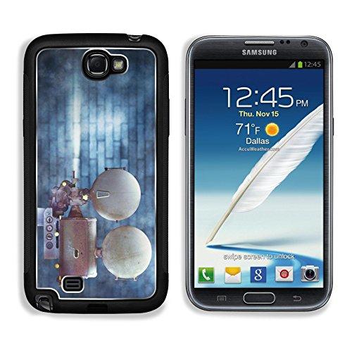 MSD Samsung Galaxy Note 2 Aluminum Plate Bumper Snap Case
