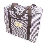 選べる オシャレ かわいい トラベル ボストン バッグ 旅行 カバン に 乗せて 使える キャリー オン バック (ブラウン(小))