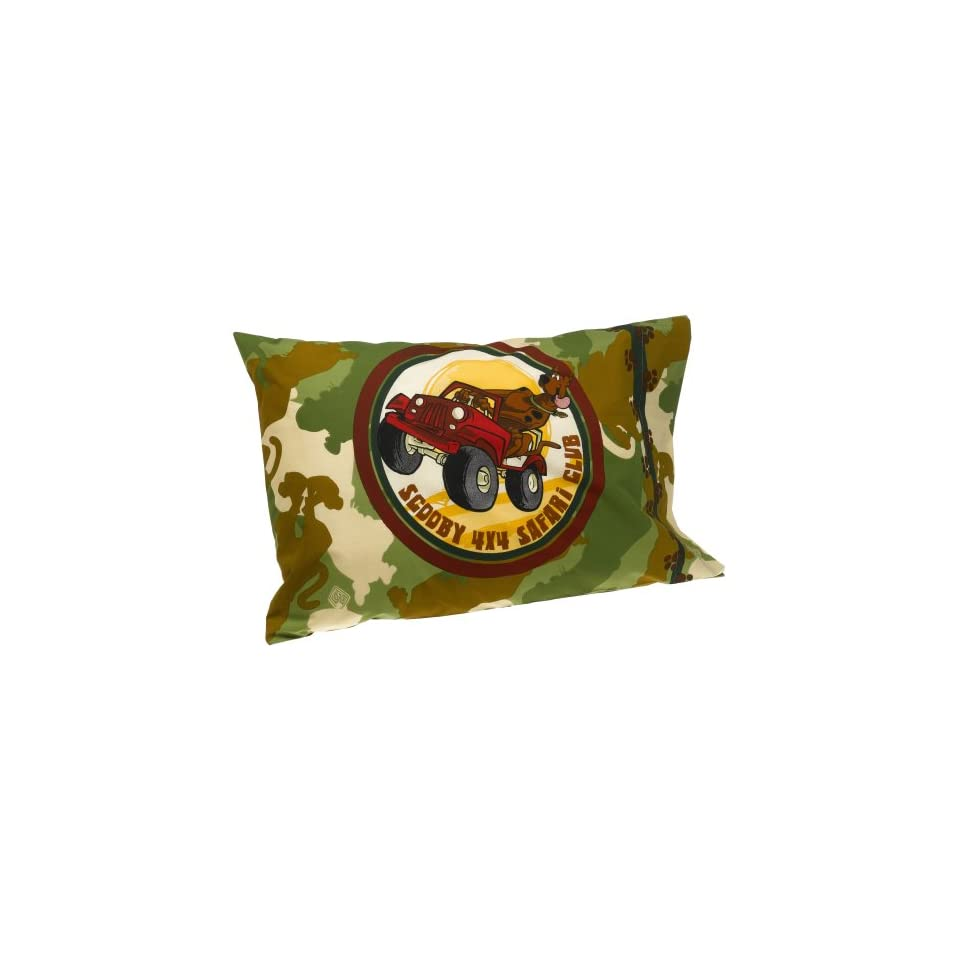 Scooby Doo Safari Standard Pillowcase
