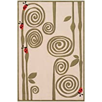 Big Sale Lil' Momeni Whimsy Lady Bug Collection Area Rug