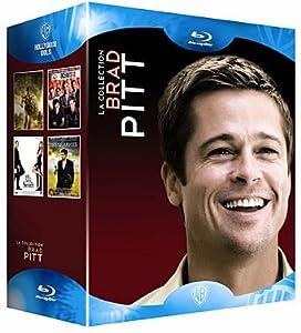 Coffret Brad Pitt: Troie / L'Assassinat de Jesse James par le lâche Robert Ford / Mr et Mrs Smith / Océan's 13 [Blu-ray] [FR Import]