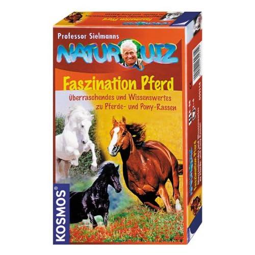 Professor Sielmanns Naturquiz : Faszination Pferd (Kinderspiel) als Weihnachtsgeschenk