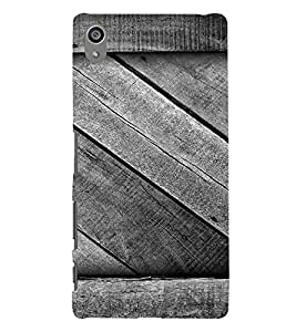 Vintage Wood Design 3D Hard Polycarbonate Designer Back Case Cover for Sony Xperia Z5 Premium (5.5 Inches) :: Xperia Z5 Plus