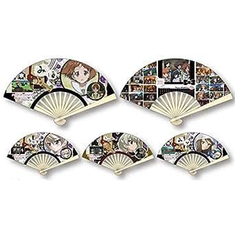 ガールズ&パンツァー劇場版 ミニ扇子コレクション BOX商品 1BOX = 12個入り、全12種類
