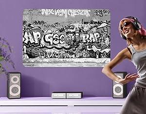WandBild Aufkleber Graffiti Art   Kundenbewertung und weitere Informationen