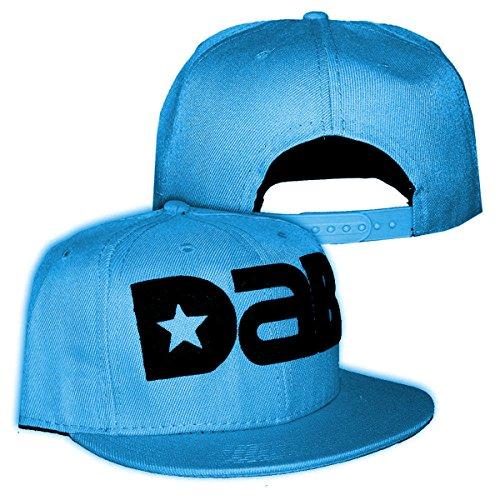 DAB-Logo-Cap-Snapback-Hat-Design-Multiple-Colors-Baby-Blue-Black