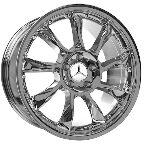 19 Inch Mercedes Wheels Rims Chrome (set of 4)