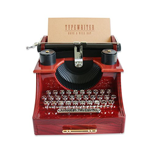 Alytimes Vintage Typewriter Music Box for Home/Office/Study Room Décor Decoration 1